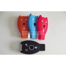HOUSSE SILICONE 3 BOUTONS  POUR MERCEDES
